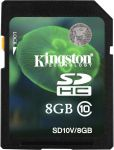 Kingston SDHC Video Class10 8GB