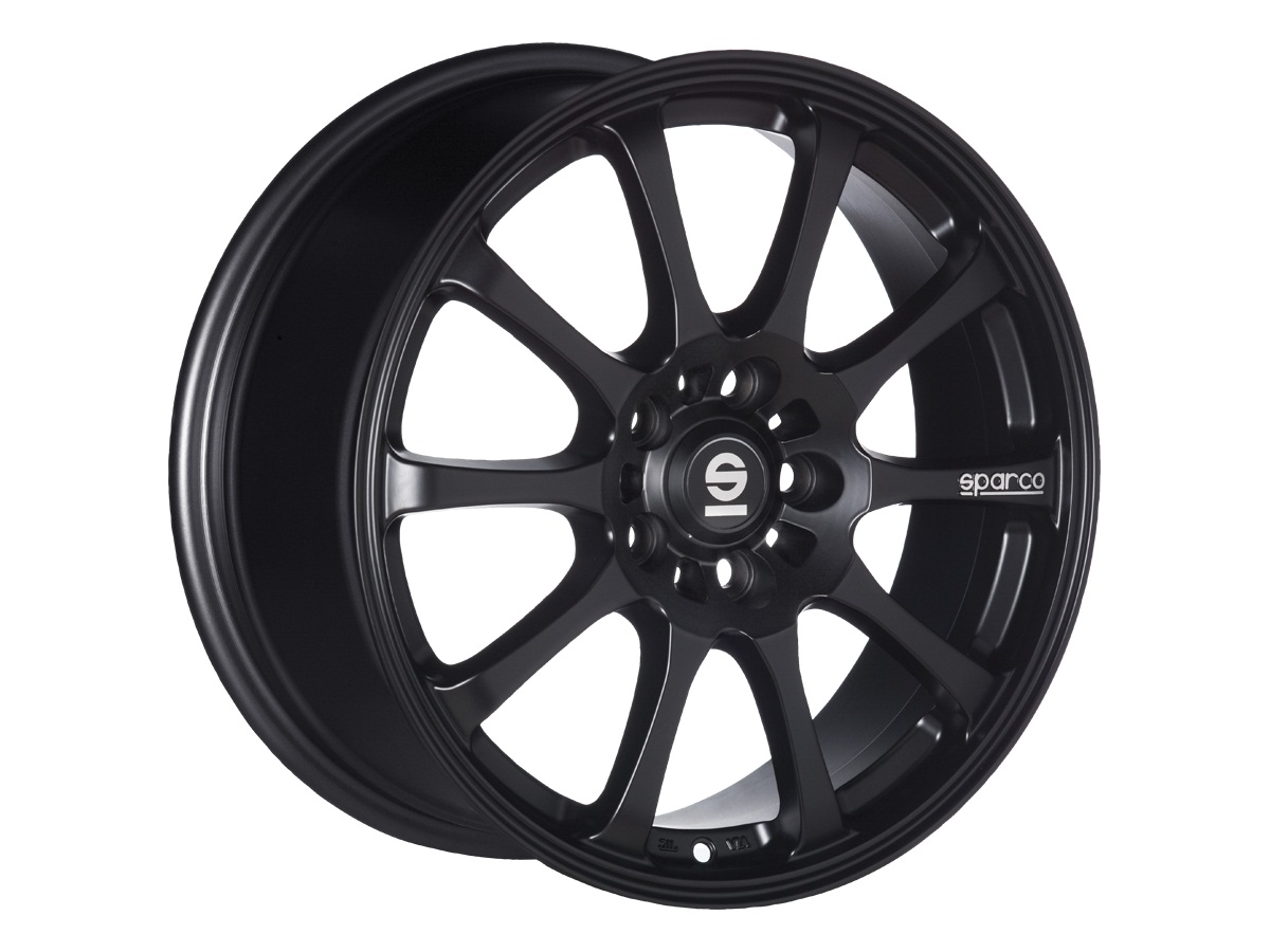 Легковой диск Sparco DRIFT 8x17 5x112 ET48 73,1 Matt Black